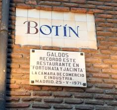 Restaurante Sobrino de Botin - Oldest Restaurant in the World - Madrid
