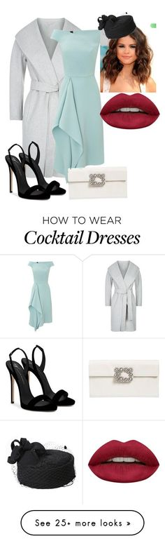 """""""Isla Richards Christmas 2011"""" by kyanastyle on Polyvore featuring MaxMara, Roland Mouret, Roger Vivier, Huda Beauty and Giuseppe Zanotti #rogervivieroutfit"""