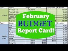 FEBRUARY ZERO BASED BUDGET | Dumping Debt Fridays | DAVE RAMSEY INSPIRED