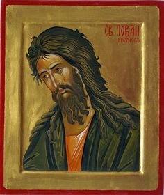 St. John the Forerunner and Baptist More icons of prophets: http://whispersofanimmortalist.blogspot.com/2015/04/icons-of-prophets-1.html