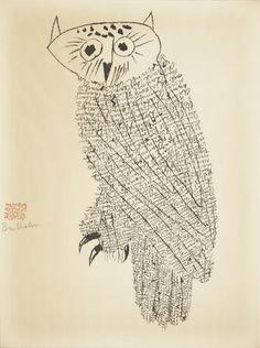 Ben Shahn - Owl No. 1