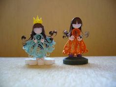 Princess & Friend - Quilled Creations Quilling Gallery