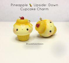 Pineapple Upside Down Cupcake Charm