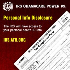 25 Best IRS Obamacare Powers images | Law, Health, Health care