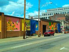 Downtown Covington is blessed with some sweet public art thanks to projects by Artworks