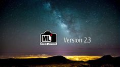 Magic Lantern version 2.3 Promo. Ready for Pro use and full support for Canon 5D mark II Release notes: http://www.magiclantern.fm/releaseno...