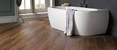 FLOOR360 Suggests: Karndean Van Gogh. Karndean Luxury Vinyl is moisture resistant flooring and gives peace of mind for your bathroom floors.