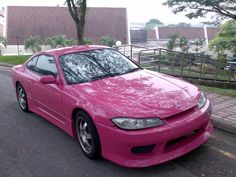 Always loved this picture.. A Pink Nissan Silvia S15.