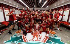 Dressing room photos: Champions celebrate Premier League glory