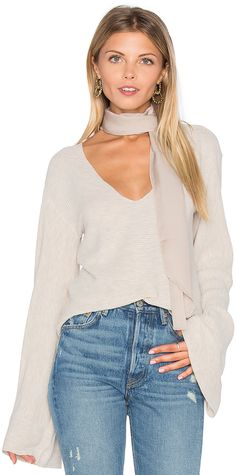 17644049f590 Free People Starman V Pullover Top