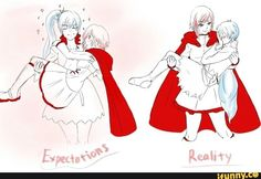 RWBY: Expectations .vs. Reality - White Rose