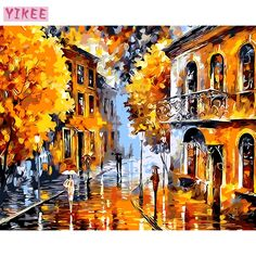 Easy123art paint by number kit from your favorite photo do diy childs hobby abstract painting by numbers kits wall decorativegold landscape abstract us 296 solutioingenieria Images