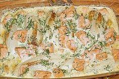 Chicoree - Auflauf mit Lachs (Rezept mit Bild) von brilla | Chefkoch.de