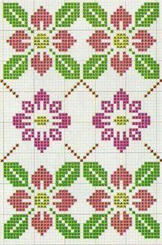 Colourful Wayuu Bags to Crochet pdf Cute Cross Stitch, Cross Stitch Borders, Cross Stitch Flowers, Cross Stitch Charts, Cross Stitch Designs, Cross Stitching, Cross Stitch Embroidery, Cross Stitch Patterns, Loom Beading