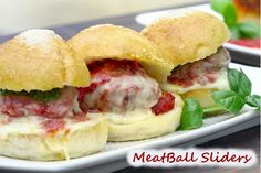 SPICY MEATBALL SLIDERS