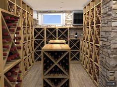 Projets 3D - Cavilux, fabricant de cave à vin sur mesure