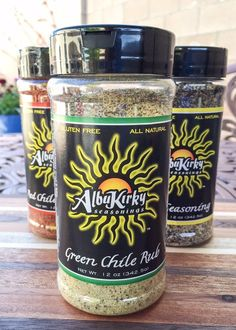 NEW! You asked. We answered. Your favorite rubs and spice blends are now available in 12 oz. Mega bottles! My two loves? Green chile and BBQ. This blend contains the best of both worlds and has been s