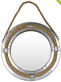 Metali nautical mirror avail @ highteawithhoney.com.au