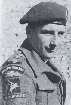 The Revd John Gwinnett, 9 PARA's padre who would fortify the men of the unit both before and during the battle. Photo featured in The Manner of Men: 9 PARA's Heroic D-Day Mission
