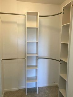 corner closet diy, closet, diy, organizing, shelving ideas, storage ideas