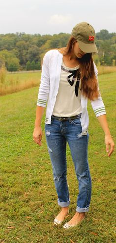 This outfit. I would Definitely wear it!!I must purchase nice fitting boyfriend jeans this summer! Omygoodness