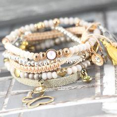 Echt cute en pretty zijn deze lieve sieraden met mini Swarovski steentjes