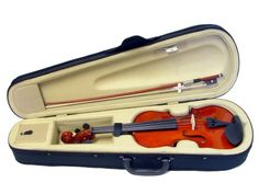 Violinsmart Natural Color Student Violin Size 34 ** Want to know more, click on the image.Note:It is affiliate link to Amazon.