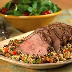 A spicy, tasty and extremely moist boneless pork roast. This recipe uses a dry rub combination that you rub on the meat before you roast it. The rub includes dill seed, fennel seed, oregano, lemon pepper, garlic and onion powder.