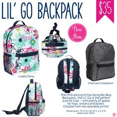 Thirty-One Lil- Go Backpack - Spring/Summer 2017