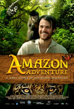 Amazon Adventure official IMAX movie poster by www.chargefield.com #graphicdesign #design #movie #film #movieposter #poster #keyart #jungle #amazon #imax
