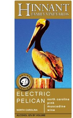 NV Hinnant Family Vineyards Electric Pelican Muscadine 750 mL *** You can get additional details at the image link.