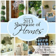 Blog post at Our Southern Home : I hope you have enjoyed the Summer Showcase of Homes Tour just as much as I have! I am so excited to be a part of this tour with 25 ama[..]