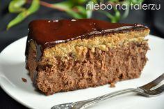 niebo na talerzu: Sernik mokka Polish Cake Recipe, Polish Recipes, Bakery Recipes, Cooking Recipes, Baked Chicken Legs, Breakfast Menu, Food Inspiration, Sweet Recipes, Delicious Desserts
