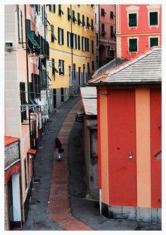The colorful Nervi - Nervi, Genoa