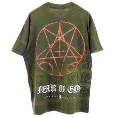 FEAR OF GOD VINTAGE T-SHIRT / MULTI