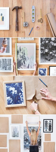 Urban Outfitters - Blog - UO DIY: Gallery Wall Click through to learn more!