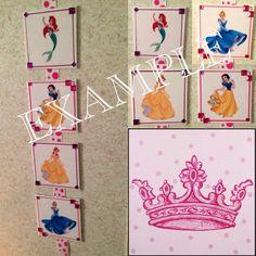 Disney Princess Room Decor on Etsy, $13.00