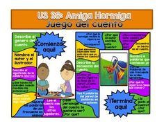 Amiga Hormiga Reading Street Grade 1 Spanish Calle de la lectura primer grado español Here you will find a game board for your students to play that goes along with the story and concepts of Unit 3 Week 6 for Grade 1 Reading Street in Spanish.I recommend using a free poster website such as blockposters.com to blow up the game board to the size of your liking.