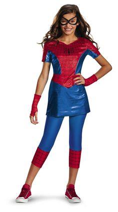Disguise Marvel Spider-Man Spider-Girl Tween Costume, Medium/7-8 - See more at: http://halloween.florenttb.com/costumes-accessories/disguise-marvel-spiderman-spidergirl-tween-costume-medium78-com/#sthash.FIqTeMJu.dpuf