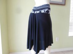 Milonga Tango & Salsa Skirt  Size S/M  fits US  by COCOsDANCEWEAR
