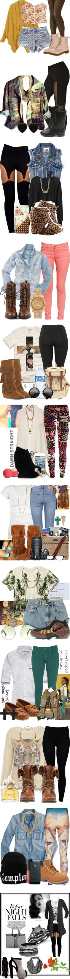 """PART 10 ! THIS IS EXCLUSIVE"" by nay2fly ❤ liked on Polyvore"
