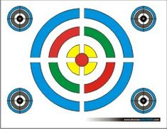 Enjoy the free printable targets below to help hone your archery skills. They also work great for other types of shooting including airguns (BB guns), airsoft guns, as well as rifles and pistols. Some of the printable targets are educational and show the vitals of animals like deer,