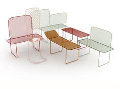 Balcony, mobili per il terrazzo disegnati da Monica Förster per Nola e presentati alla Stockholm Furniture Fair 2013