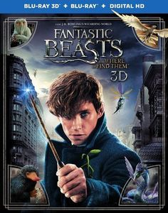 Fantastic Beasts and Where to Find Them [3D] [Blu-ray/DVD] [Blu-ray/Blu-ray 3D/DVD] [2016]