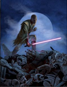 The Return of Mace Windu   Ah yes! This is pure fan art, but i still have faith in Mace Windu... Heck if they can bring back Darth Maul ( my favorite Sith Lord ) they should be able to bring back MACE!