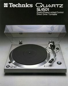 Technics SL-1501(1977) Vintage Audio Turntable