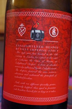 Enlightened Despot - 2016 Lickinghole Creek Craft Brewery