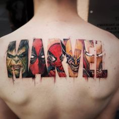 Damn what a nice marvel Tattoo