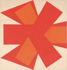 "Lot 243 John Friel  Untitled    1966  Acrylic on canvas   Signed and dated verso  33.75"" x 32.25""   Estimate $500 - 700"