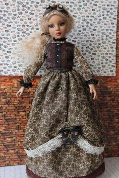 Steampunk Dress set for Ellowyne Wilde 16'